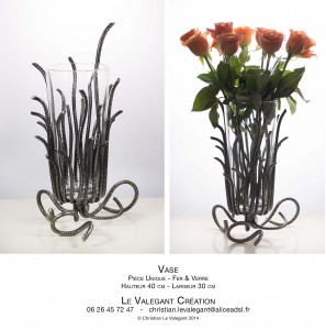 14 LE VALEGANT CREATION VASE 2 vues