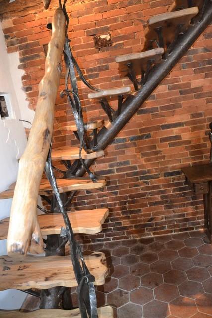 Escalier Bois Fer Forgé - escalier fer forgé et bois Le Valégant Création