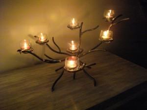 bougeoir table de nuit