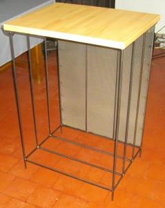 meuble pour ranger les bûches de bois