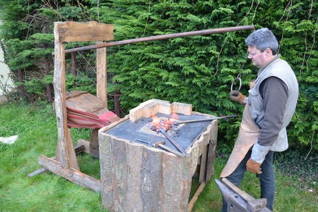 Plan Foyer De Forge : Fabrication de ma première forge le valégant création