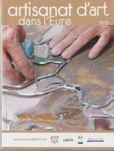"""couverture du livre """"artisanat d'art dans l'Eure"""""""
