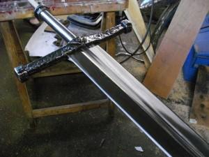 épée forgée